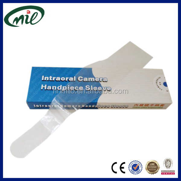 High quality dental sleeves intraoral camera sheath/medical consumables intraoral camera sleeves