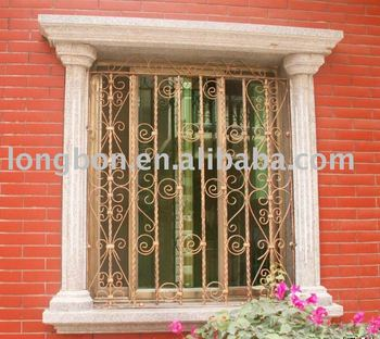 2014 Top-selling Modern Iron Window Grill Color - Buy Iron Window Grill  Color,Wrought Iron Window Grill Design,Decorative Wrought Iron Window Grill