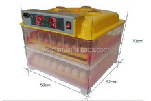 Full automatic domestic poultry eggs incubator with humidifier