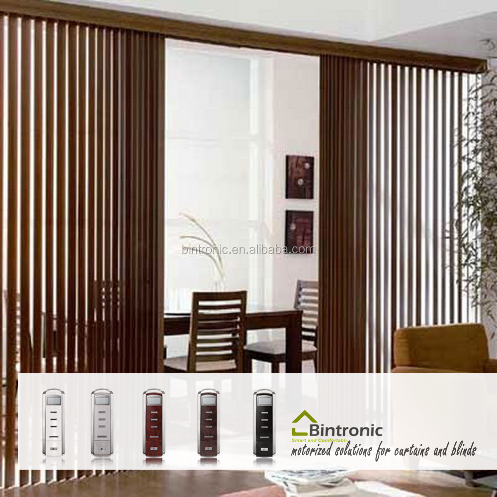 Bintronic Taiwan Home Decorating Ideas Motorized Vertical Blinds With Vertical Blind Accessories Photos
