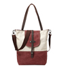 popular casual multifunctional plain large canvas women bags