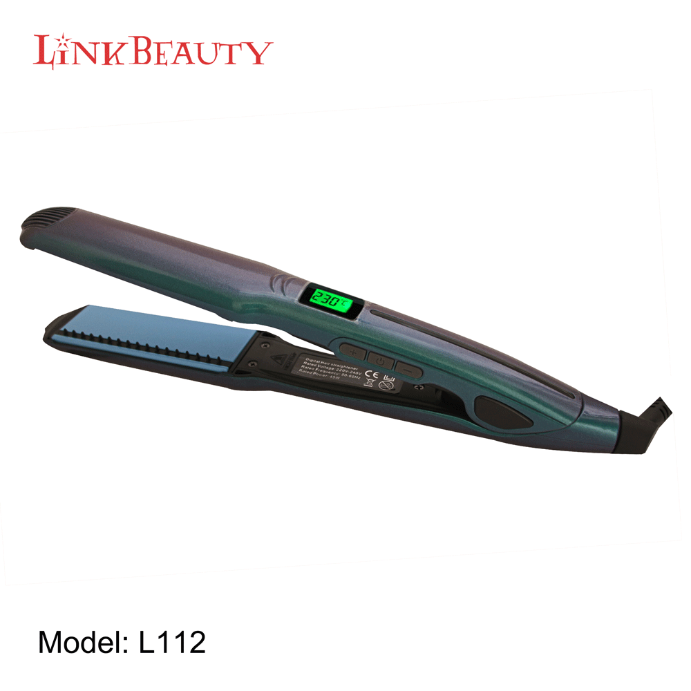 negtive ions hair straightener and curling iron