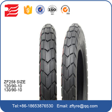 10 inches tubeless tyre, 10 inch scooter tire 350-10 300-10 90/90-10 120/90-10 130/60-10 110/90-10
