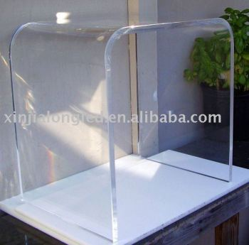 Superbe Eye Catching Acrylic Side Table Or Plastic End Table