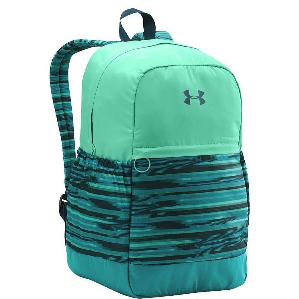Get Quotations · Under Armour Women s UA Backpack (Youth) Tahitian  Teal Green Breeze Peach Horizon 647ffd5d3b56e