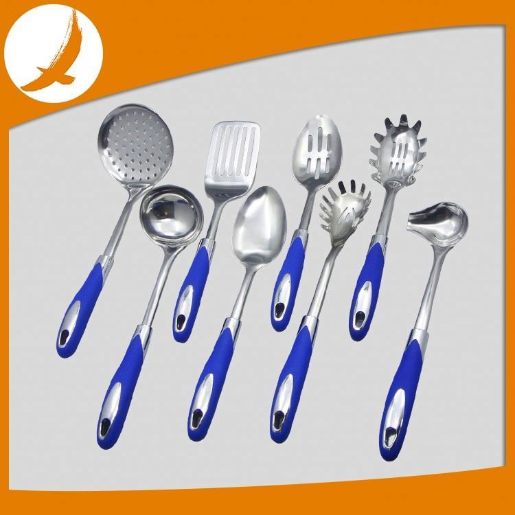 Low price Nylon kitchenware with handle kitchen tools and utensils