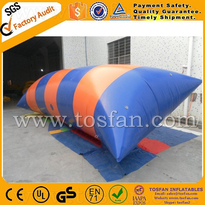 Cheap PVC inflatable water catapult inflatable water blob A9048A