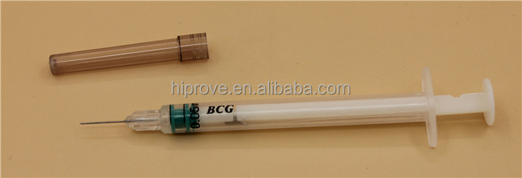 Auto Disable Bcg Syringe 0.05ml,0.1ml,0.5ml,1ml
