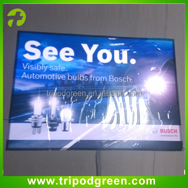 High brightness,e-ink printing long life animation el advertisement/poster/billboard