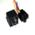 12V 40A 5pin auto relay socket customized wire harness cable
