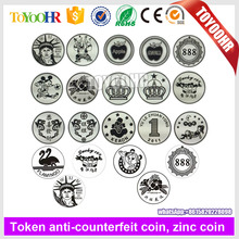 2015 high quality hot sales amusement token coins