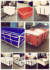 Plastic water tank with wheels folding for sale