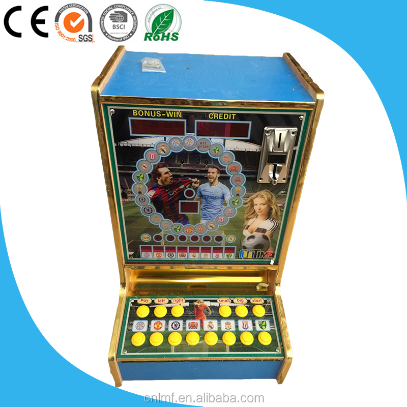 2016 Hotest Southeast Aisa and Africa Table Top Coin Operated Casino Slot Game Machine