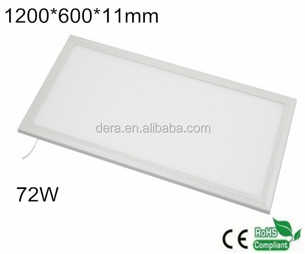 300x600mm 600x600mm 1200x600mm 72w Dot Matrix Led Panel