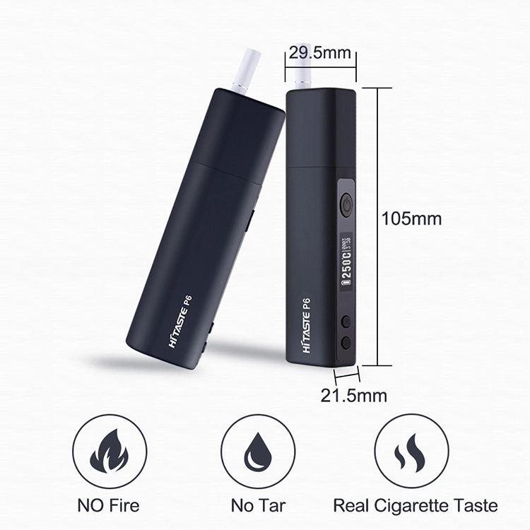 KC Certificate Hitaste P6 Heat Without Burn kit Cigarette for Tobacco Sticks
