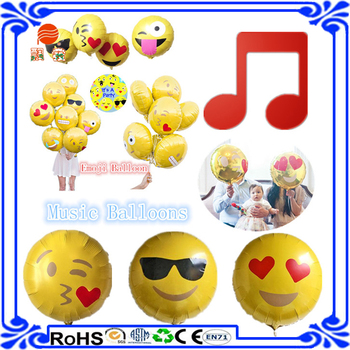 Happy New Year 2016 Emoji Foil Balloon Music Balloon For Children - Buy  Music Balloon,Happy New Year,Foil Balloon Product on Alibaba com