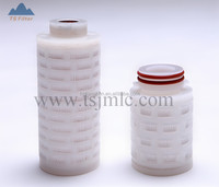 Length 70mm small Series Filter Cartridge pleated membrane in liquid or gas service