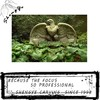 Garden decorative large carved marble american eagle statues