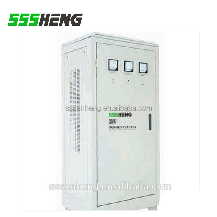 Large power 100kva stabilizer DBW series single phase compensation ac voltage stabilizer