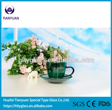 New products Soda-lime glass single wall glass cup Italian small coffee cup