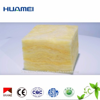 48kg/m3 density 50mm thickness Glass wool for air-conditioner duct insulation