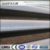 shipping from China low temp carbon steel (ltcs) seamless pipe