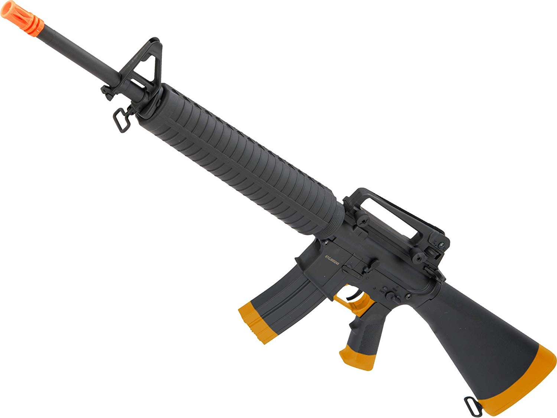 Evike CYMA Full Size M16A3 Airsoft AEG Rifle w/Lipo Ready Metal Gearbox & Full Stock