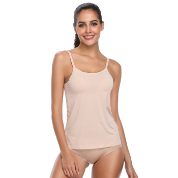 Seamless camisole body shaper womens cami tank top