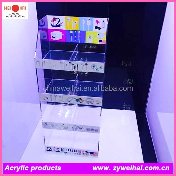 Sticker,Acrylic Material Cell Phone Charger Display