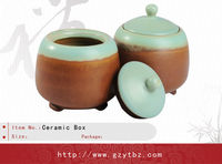 Decorate Ceramic Tea Packaging Box for Gift