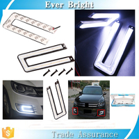 For Japan Cars C-shaped DRL U-shaped LED Daytime Running Lights