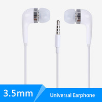 Wired stereo in ear phone accessories headphone for smart mobile cell phone