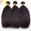 kinky straight hair virgin indian raw unprocessed yaki human hair weave for black women wholesale price