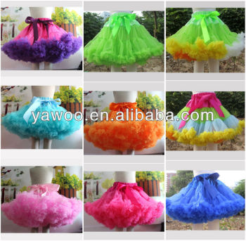Newborn Baby Petit Skirt Fluffy Tutu For Girls Dress Lalaloopsy