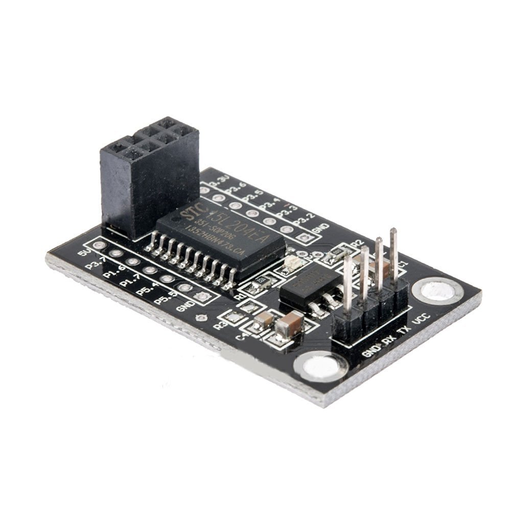 Cheap Stc 51 Microcontroller Downloader Find Isp Pc Software For Programming This At89s51 52 Can Be Get Quotations Solu Stc15l204 Nrf24l01 Wireless Driver Board Development Onboard Stc15l204ea Chip