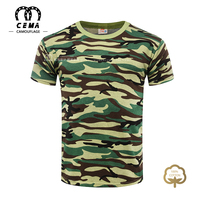 OEM service army combat camouflage cotton navy military t shirts