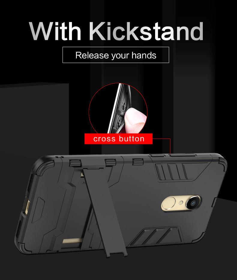Hot Sale TPU PC hybrid kickstand cover phone case for xiaomi , armor case for xiaomi mi max 3 cover