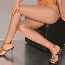 Beige latex <span class=keywords><strong>voller</strong></span> <span class=keywords><strong>Länge</strong></span> a11045-3 legging