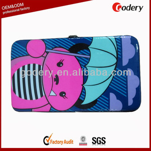 Hot selling wallet women womens hard wallet women slim wallet