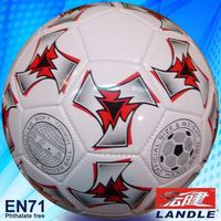Official size & weight football soccer ball with fifa standard