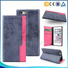 Brand new mixed color flip case leather mobile phone cover for Blackberry Classic Q20