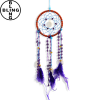>>>2017 Best selling Indian Feather Dreamcatcher Dream Catcher Wind Chime/