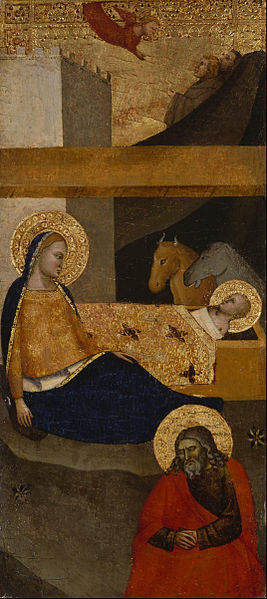 Canvas Art Prints Stretched Framed Giclee World Famous Artist Oil Painting Unknown <font><b>Italian</b></font> Nativity