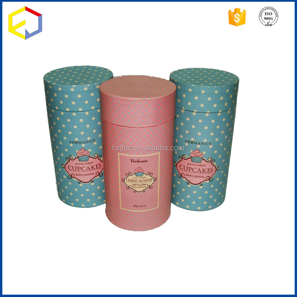 Paper Tube Packaging Box Coated With Artpaper