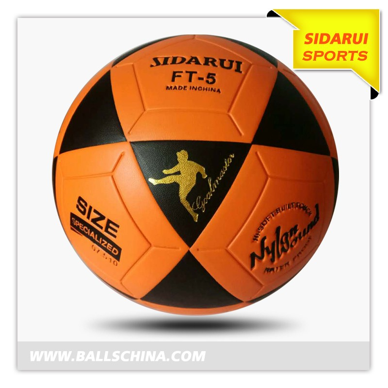 FT5 Goal Master Yellow/Black Official Size 5 Soccer Ball