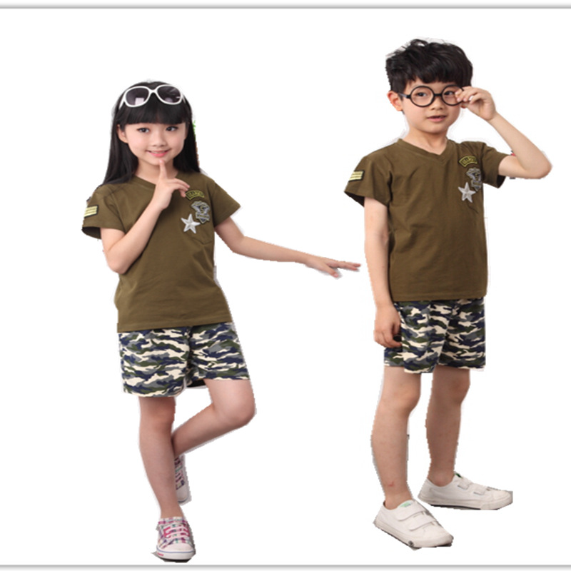 New 2015 Kids Clothing Set Kids Clothing Girls Shirt Girls Children Clothing Korean Children Clothing Set Summer Style For Girls