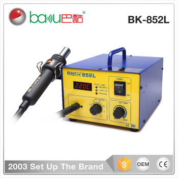 New Product LED Digital Display BGA Hot Air SMD Rework Soldering Station BK852L