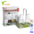 Kitchen Tools 2 Pieces  Oil And Vinegar Diepenser Oil And Vinegar Bottle Set With Rack