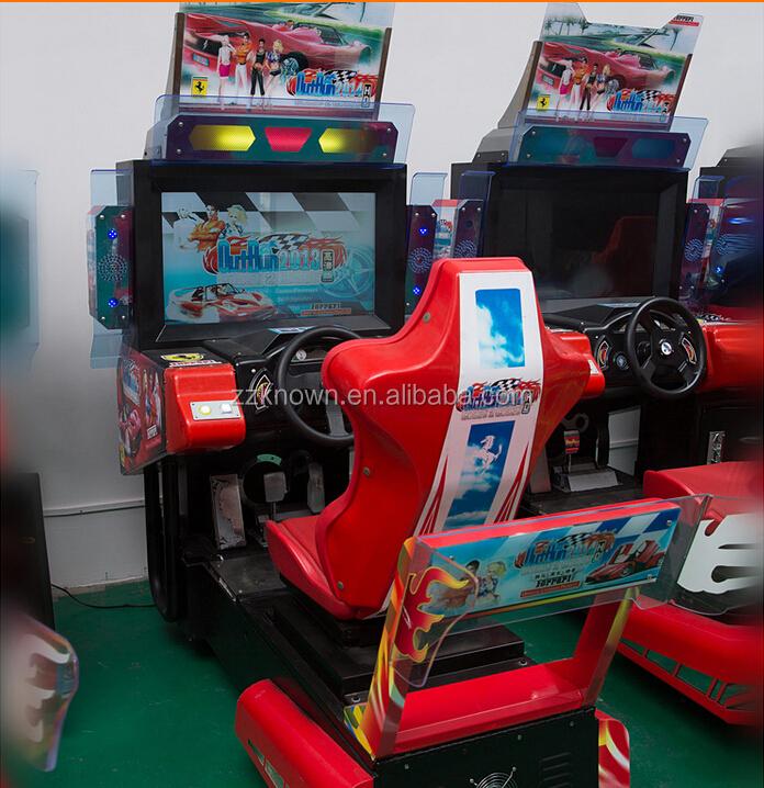 Best Selling 42'' India Car Racing Game Machine,Simulator Arcade ...