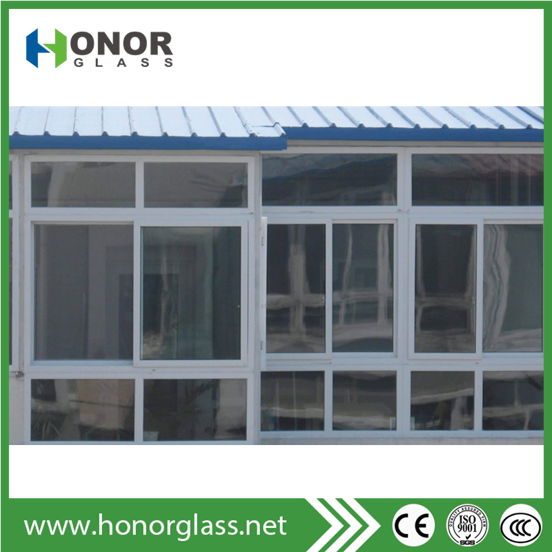 Fashionable grilled design pvc window manufacturer made in china
